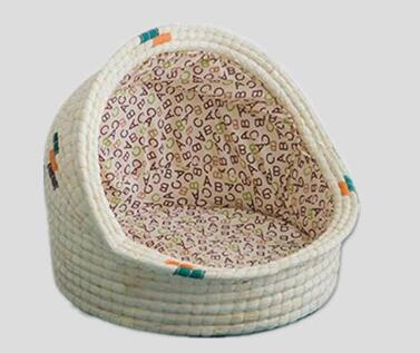 dog bed,cat bed,pet bed,made of maize with liner