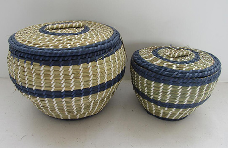 storage basket with cover,fruit basket